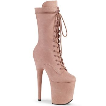 Extrem Plateau Heels  FLAMINGO-1050FS - Dusty Blush