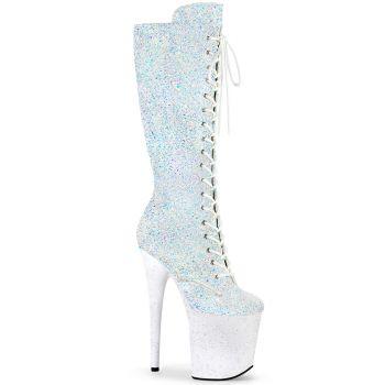 Extrem Heels FLAMINGO-2020MG - Weiß