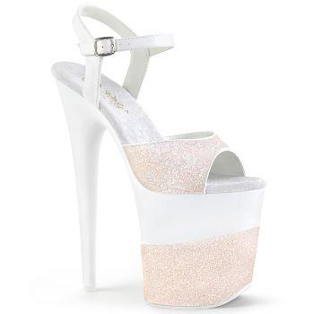 Extrem High Heels FLAMINGO-809-2G - Opal Rosa