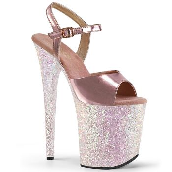 Extrem High Heels FLAMINGO-809LG - Opal Rosa