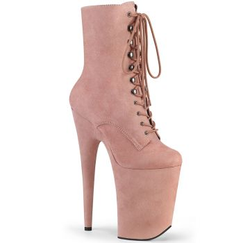 Extrem Plateau Heels INFINITY-1020FS - Baby Pink