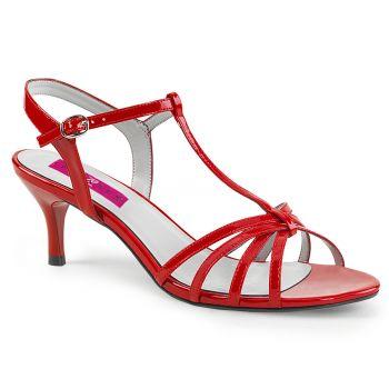 Sandalette KITTEN-06 - Lack Rot