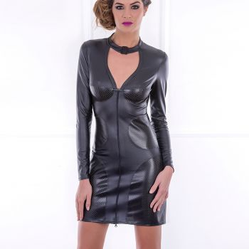 Wetlook Mini Kleid MORENCY*