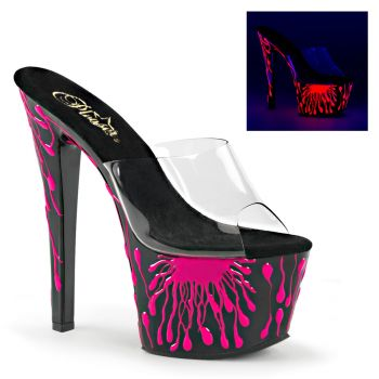 Plateau Pantolette SKY-301-5 - Neon Pink