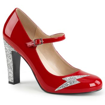 Mary Jane Pumps QUEEN-02 - Lack Rot