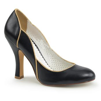 Retro Pumps SMITTEN-04 - Schwarz