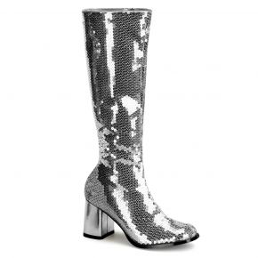 Stiefel SPECTACUL-300SQ - Silber