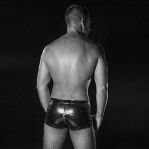 Wetlook Boxershorts RAYAN - Schwarz