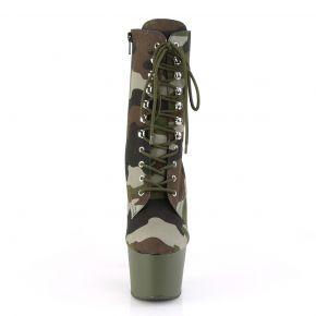 Plateau Stiefelette ADORE-1020CAMO - Camouflage