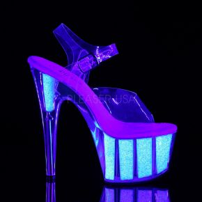 Plateau High Heels ADORE-708UVG - Neon Opal