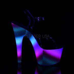 Plateau High Heels ADORE-709WR - Neon Mehrfarbig
