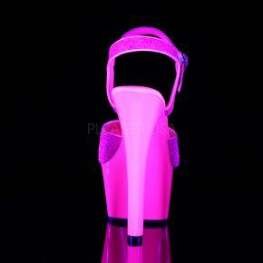 Neon Plateau Sandalette ASPIRE-609G - Neon Pink