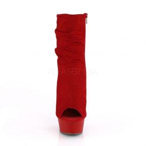 Open Toe Stiefelette DELIGHT-1031 - Rot