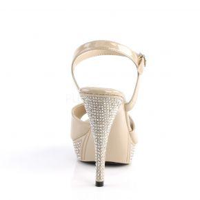 Sandalette ELEGANT-409 - Creme