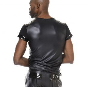 Wetlook T-Shirt TOM - Schwarz*