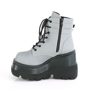 Plateau Ankle Boots SHAKER-52 - Grau