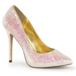 Glitter Pumps AMUSE-20G - Rosa*